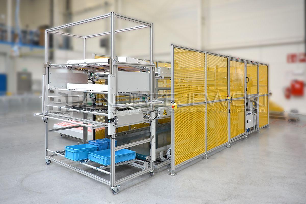 1. Bufor autonomicznego wózka AGV