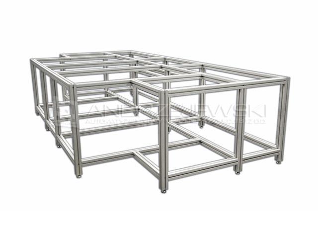 Aluminum structure