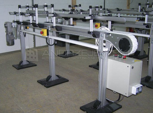 Conveyor VF 65 with roller pressing
