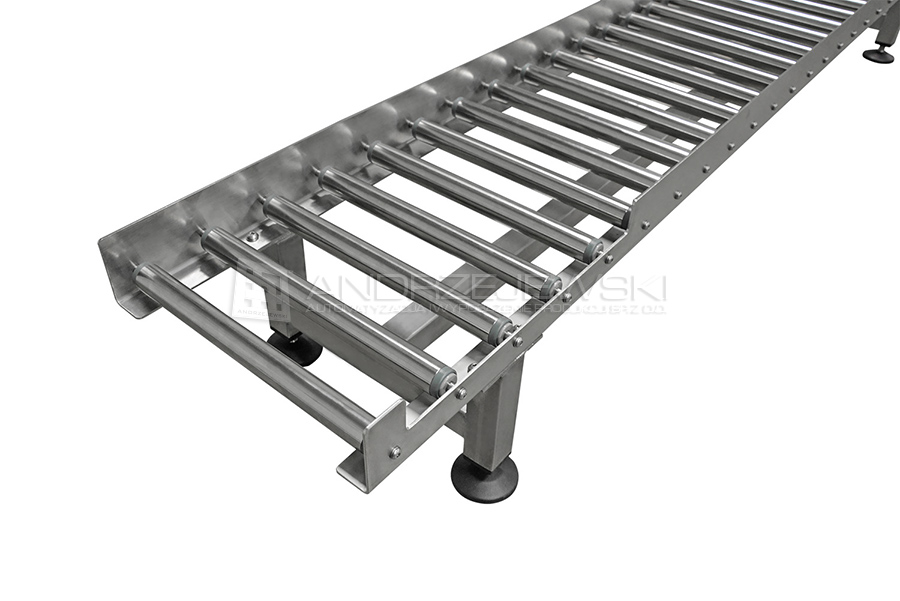 11. Roller conveyors made of stainless steel