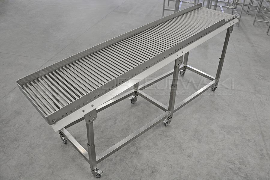 3. Stainless steel roller conveyor