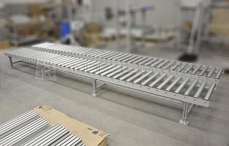 1. Roller conveyors