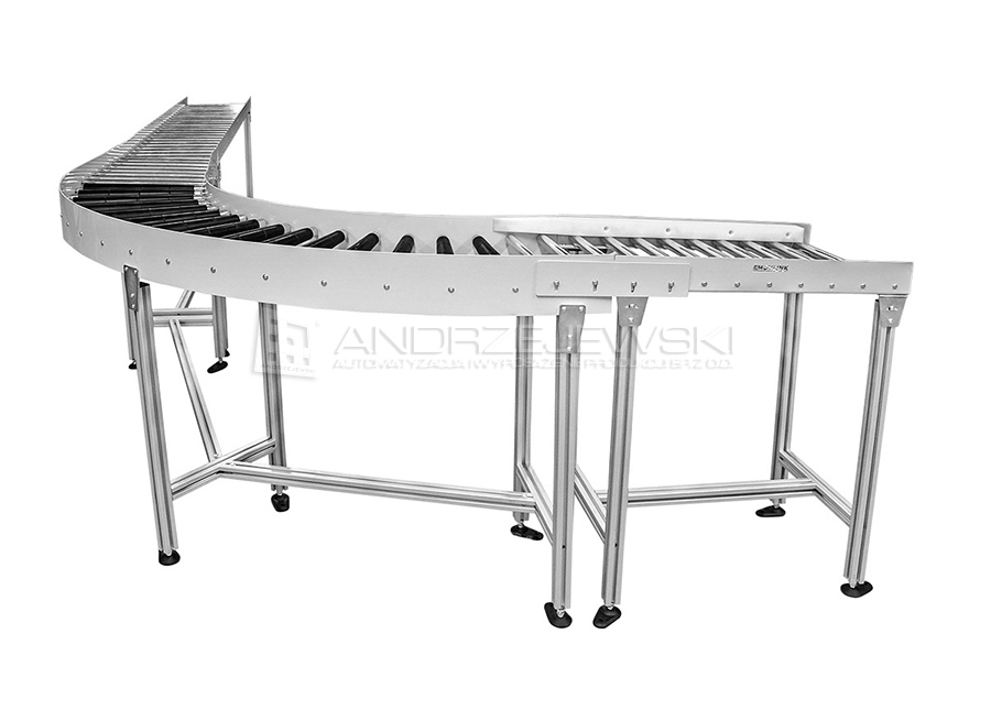 13. Set of roller conveyors