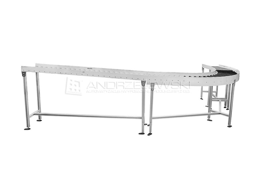 13. Set of roller conveyors