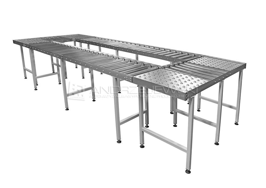 9. Roller conveyors