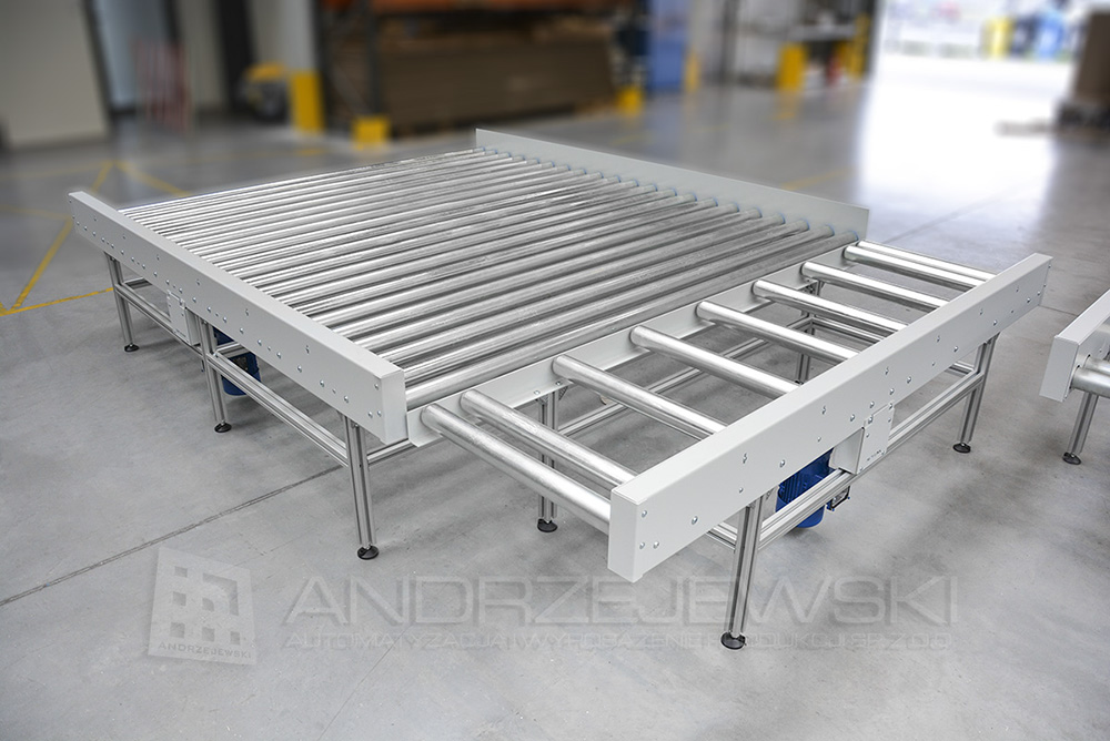 Driven roller conveyors