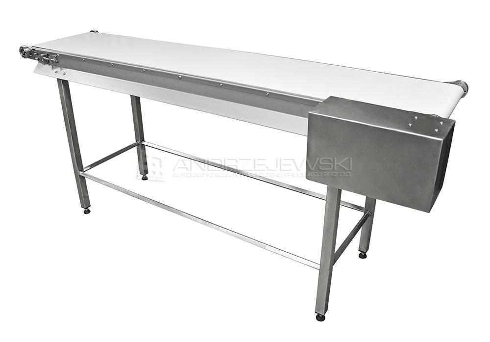 Belt conveyor made of stainless steel