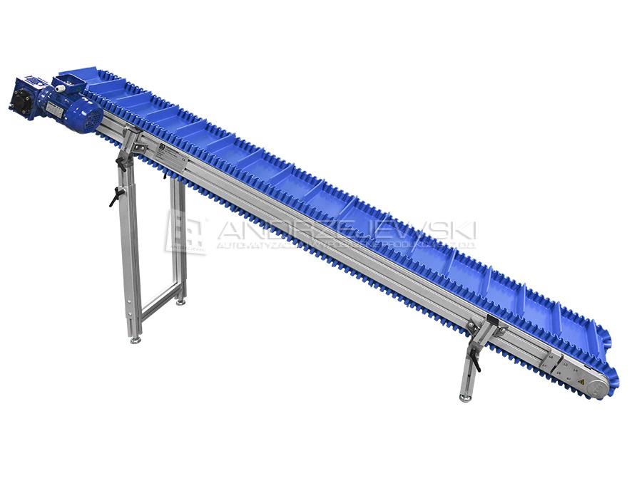 Diagonal conveyor