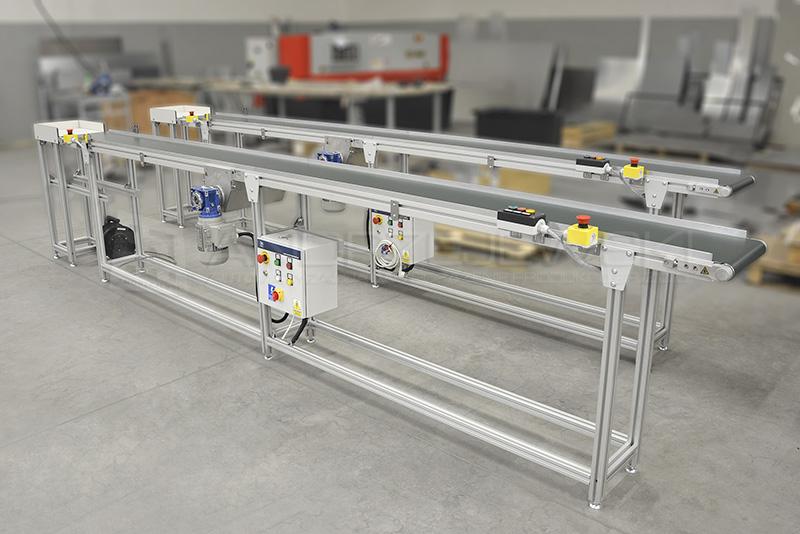 IV. Belt conveyors
