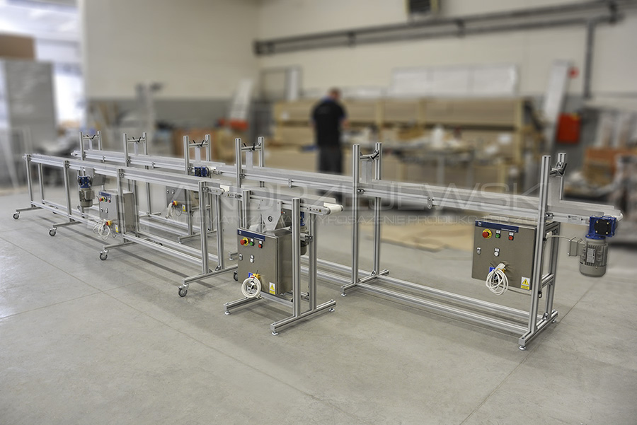 I. Belt conveyors