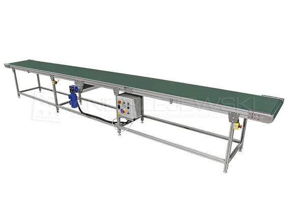 Belt conveyor with central drive