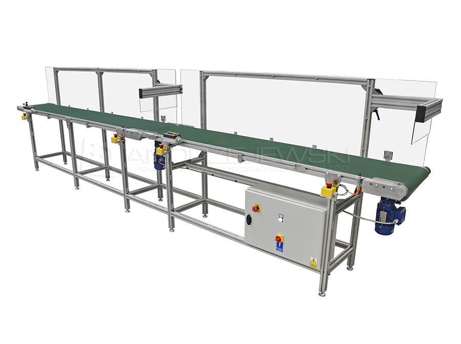 Set of belt conveyors II