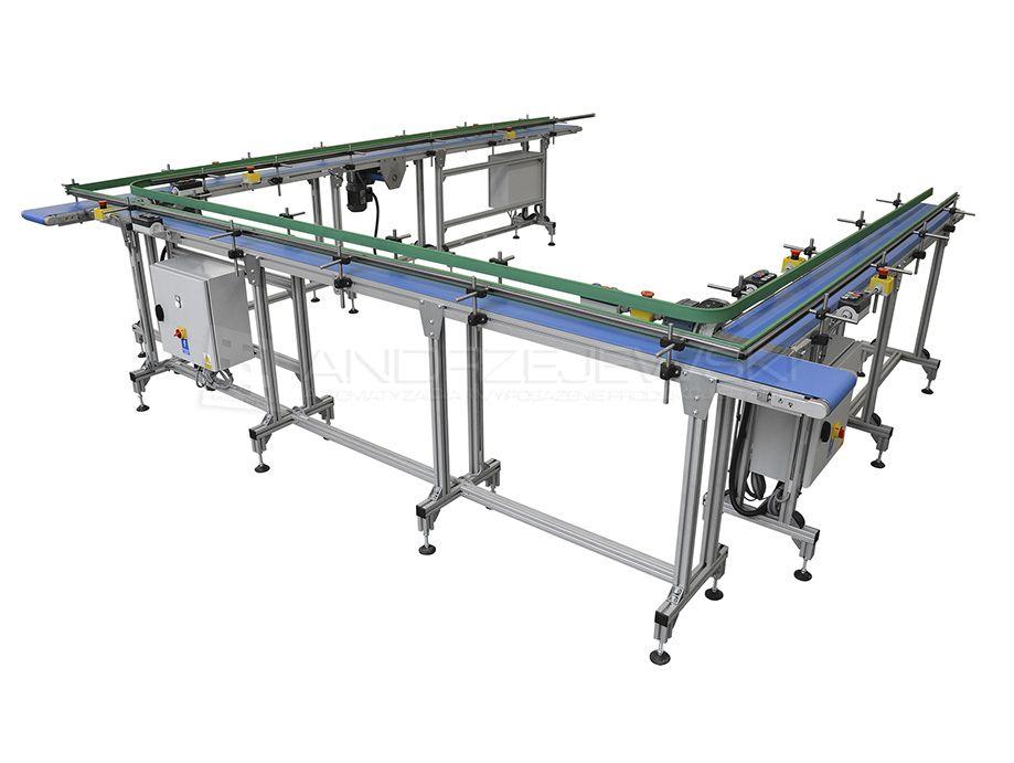 Set of belt conveyors I