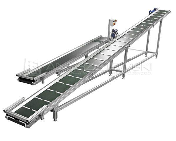 Diagonal conveyors