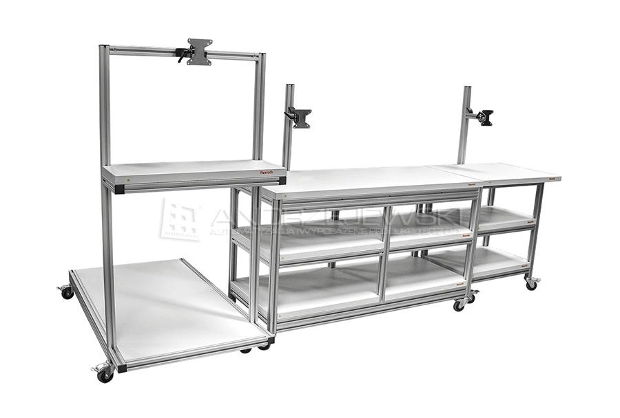 3. Material carts