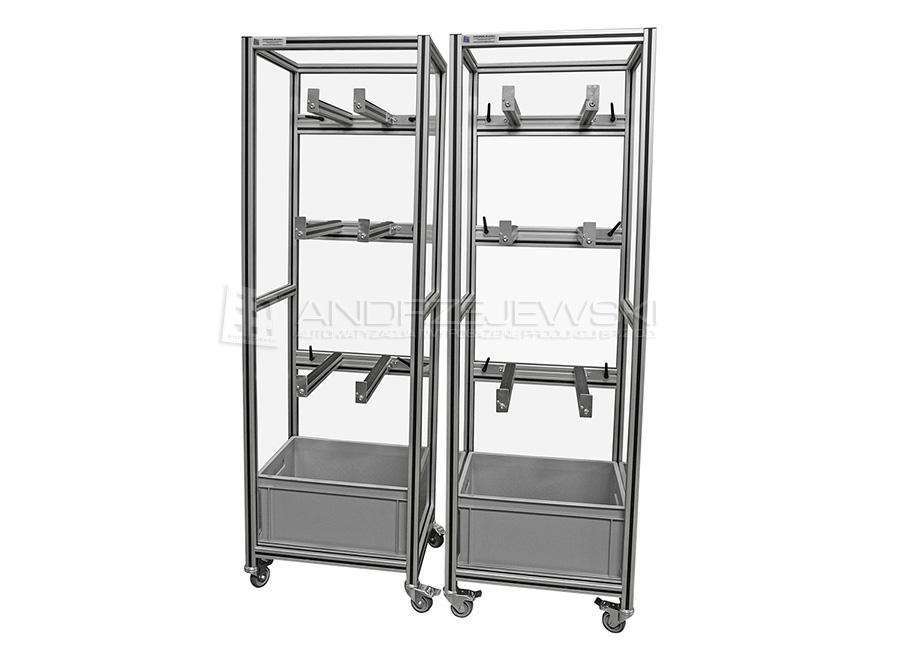 2. Material carts