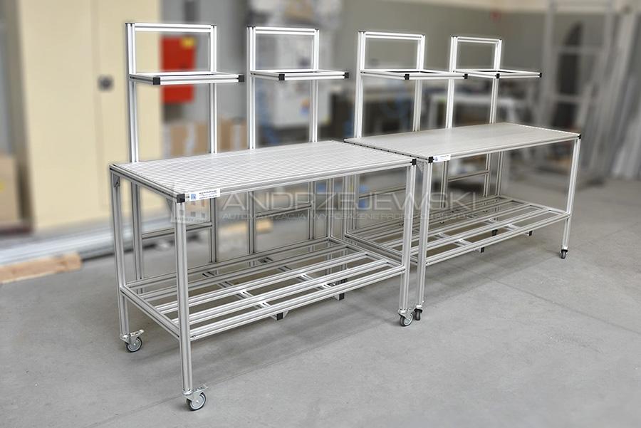 1. Material carts
