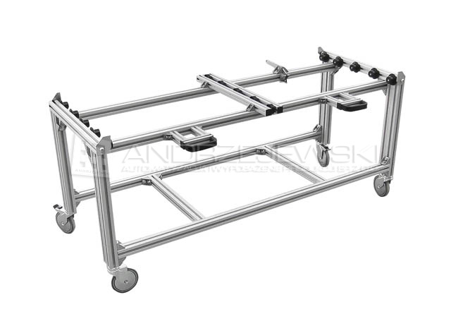 Cart for containers