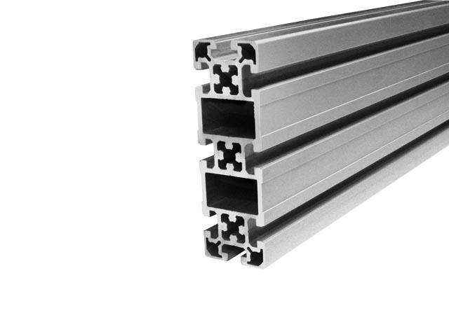 profile aluminiowe serii 50 z rowkiem roboczym 10mm andrzejewski. Black Bedroom Furniture Sets. Home Design Ideas