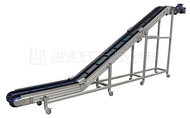 Z type belt conveyors - ANDRZEJEWSKI